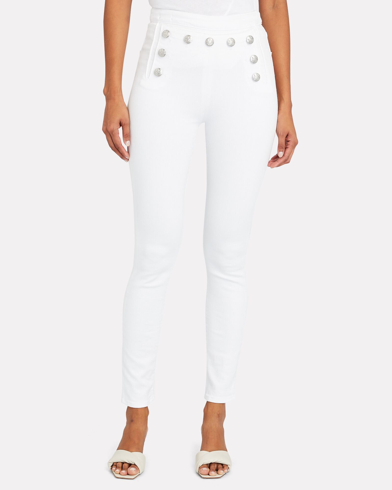 Jane Sailor Skinny Jeans, WHITE, hi-res