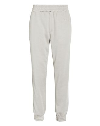 Sydney Cotton Joggers, LIGHT GREY, hi-res