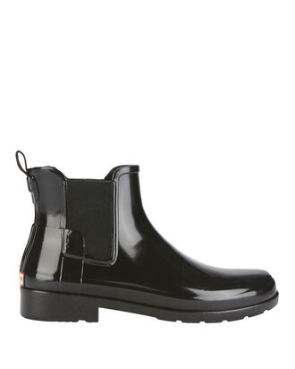 Original Refined Chelsea Gloss Rain Boots, BLACK, hi-res