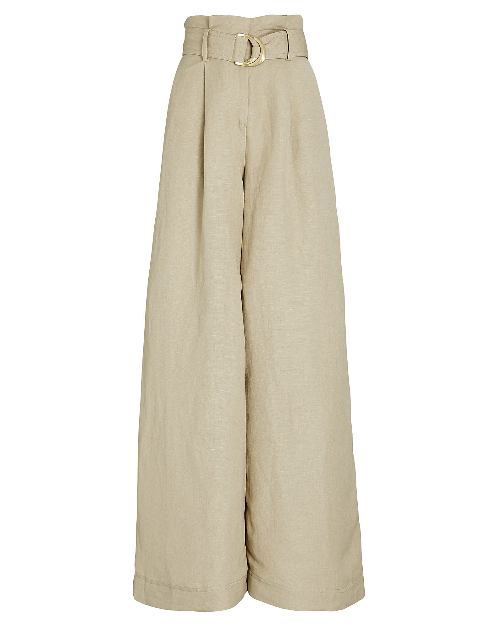 Consonance Wide-Leg Pants, BEIGE, hi-res