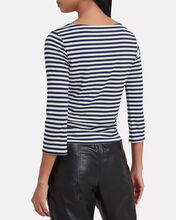 Lucy Striped Jersey Top, MULTI, hi-res