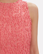 Fil Coupé Leopard Swing Dress, PINK, hi-res