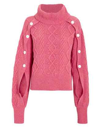 Digby Turtleneck Sweater, PINK, hi-res