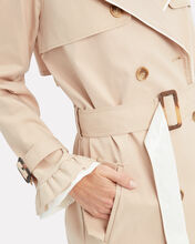 Kassidy Trench Coat, BEIGE, hi-res