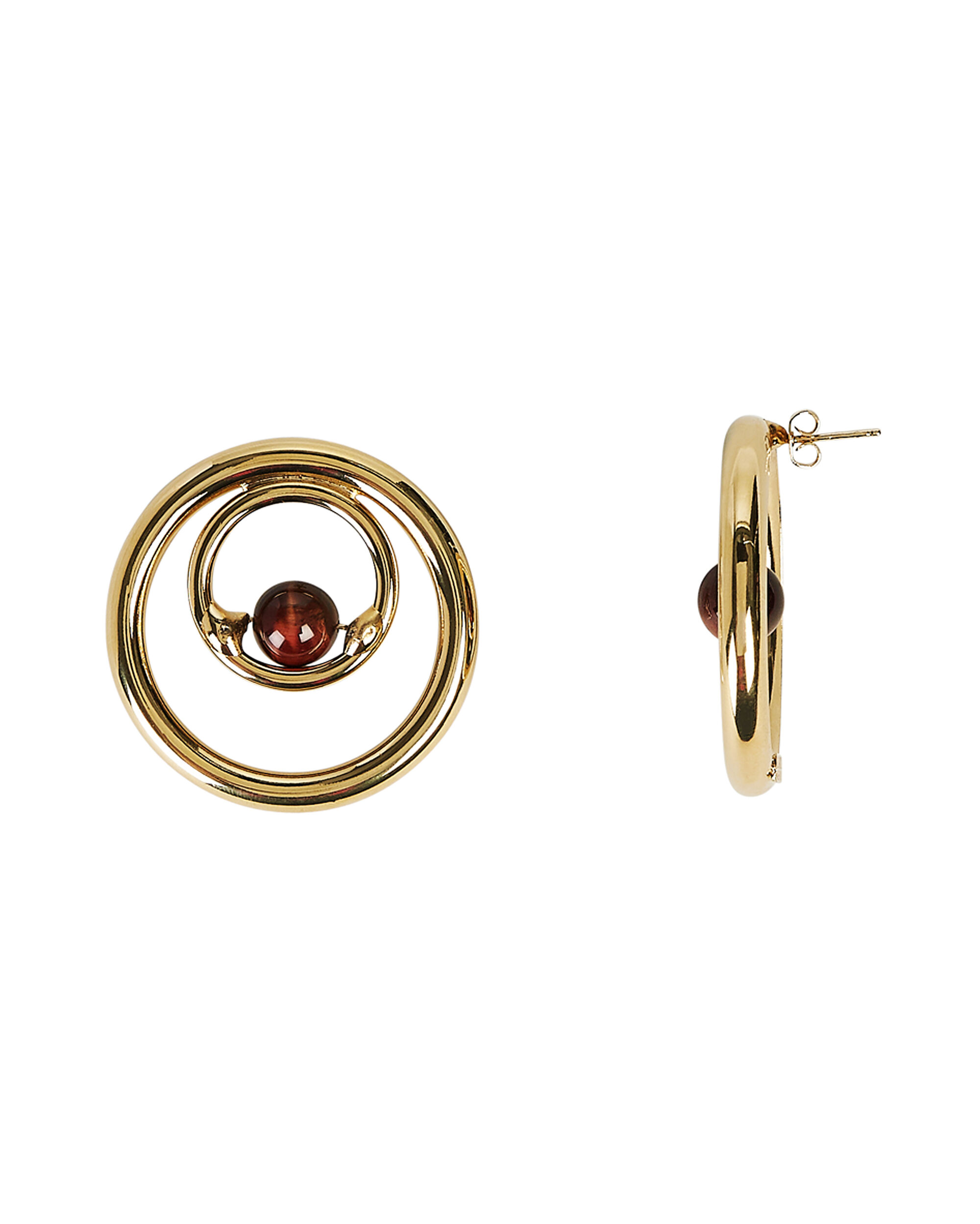 Passato Hoops, GOLD, hi-res
