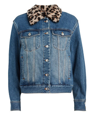 Tilia Boyfriend Sherpa-Lined Denim Jacket, MEDIUM WASH DENIM, hi-res