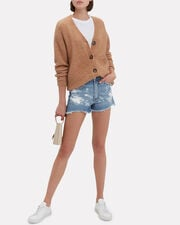 Justine Shorts, DENIM-LT, hi-res