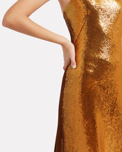 Gilded Roxy Sequin Gown, GOLD, hi-res