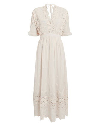 Delfina Maxi Dress, IVORY, hi-res