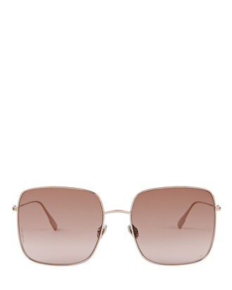 DiorStellaire1 Square Sunglasses, BEIGE, hi-res
