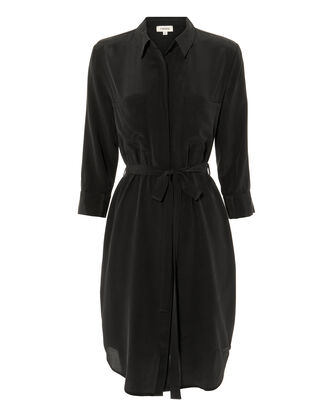 Stella Shirtdress, BLACK, hi-res