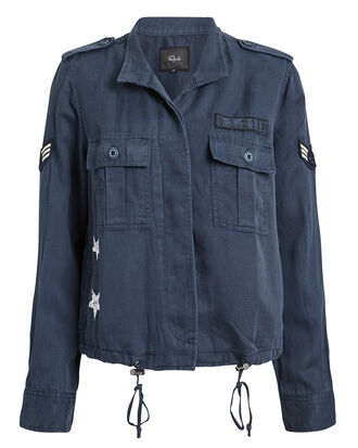 Grant Jacket, NAVY/WHITE, hi-res