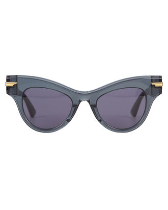 Oversized Cat Eye Sunglasses, GREY, hi-res