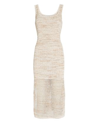 Preston Sleeveless Knit Dress, BEIGE, hi-res