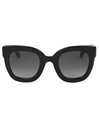 Oversized Crystal-Embellished Sunglasses, BLACK, hi-res