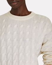 Seymour Cashmere Cable Knit Sweater, IVORY, hi-res