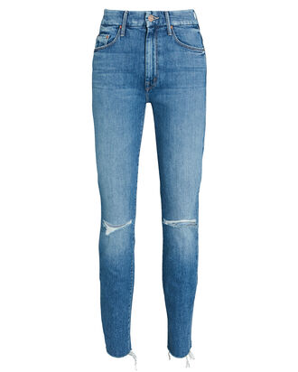 The Looker Ankle Fray Skinny Jeans, SPICE IT UP, hi-res