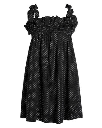 Amory Tunic Cover-Up, BLACK/WHITE POLKA DOT, hi-res