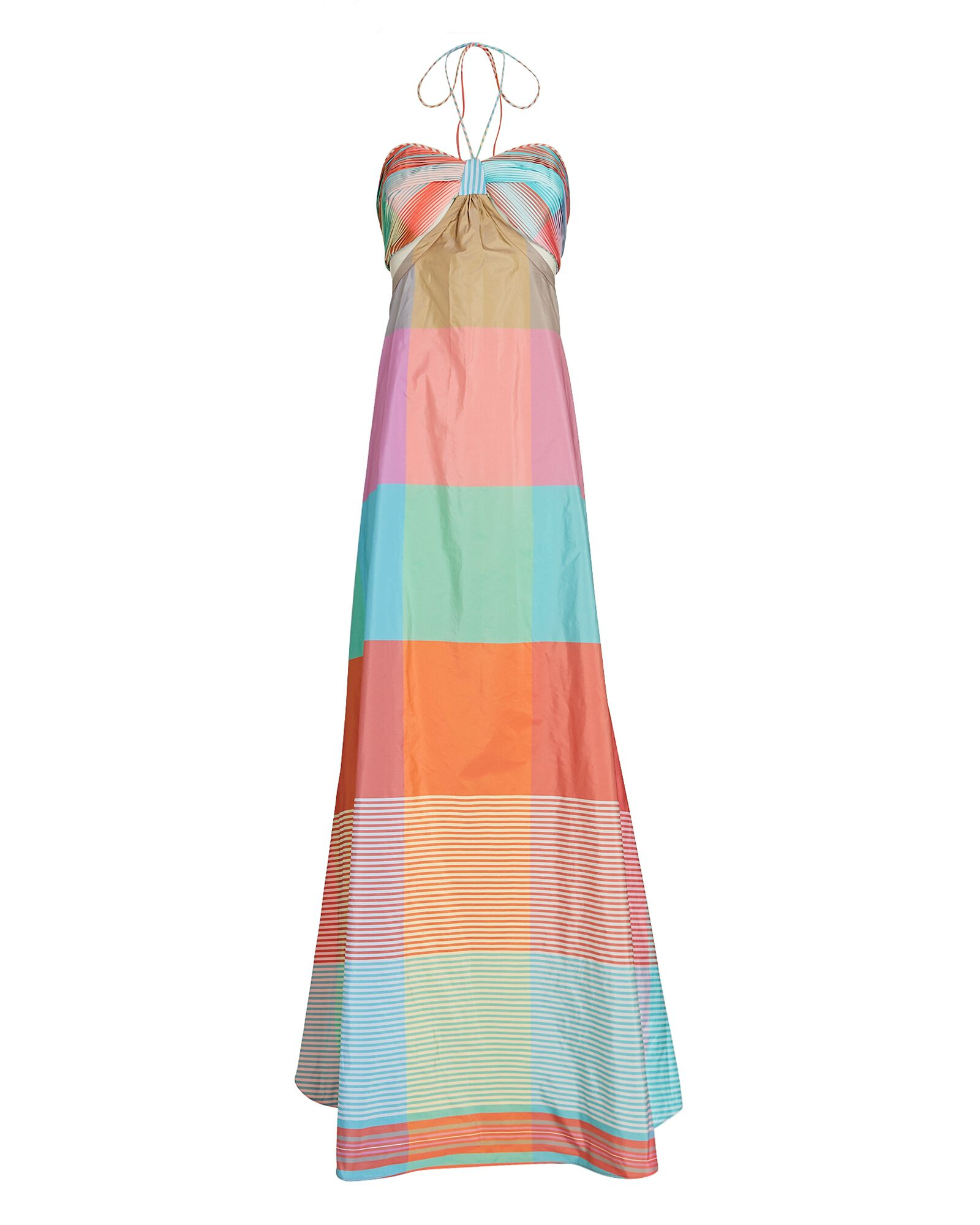 Dusana Color Block Maxi Dress, MULTI, hi-res