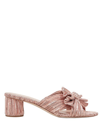 Emilia Rose Gold Slide Sandals, ROSE GOLD, hi-res