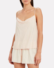 Ava Cowl Neck Camisole, PINK, hi-res