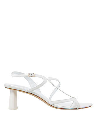 Brigette High Sandals, WHITE, hi-res