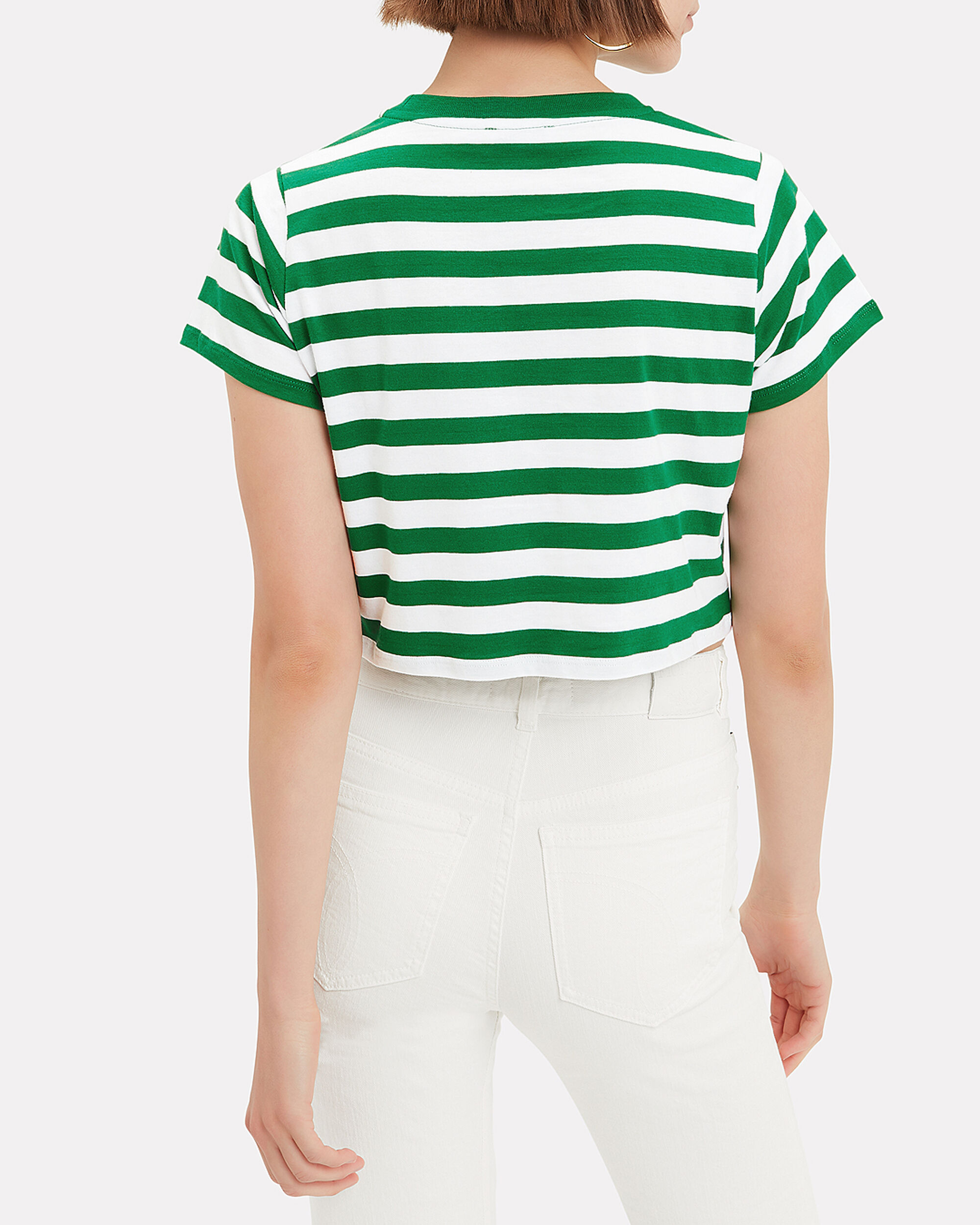 Iconic Striped Crop T-Shirt, MULTI, hi-res