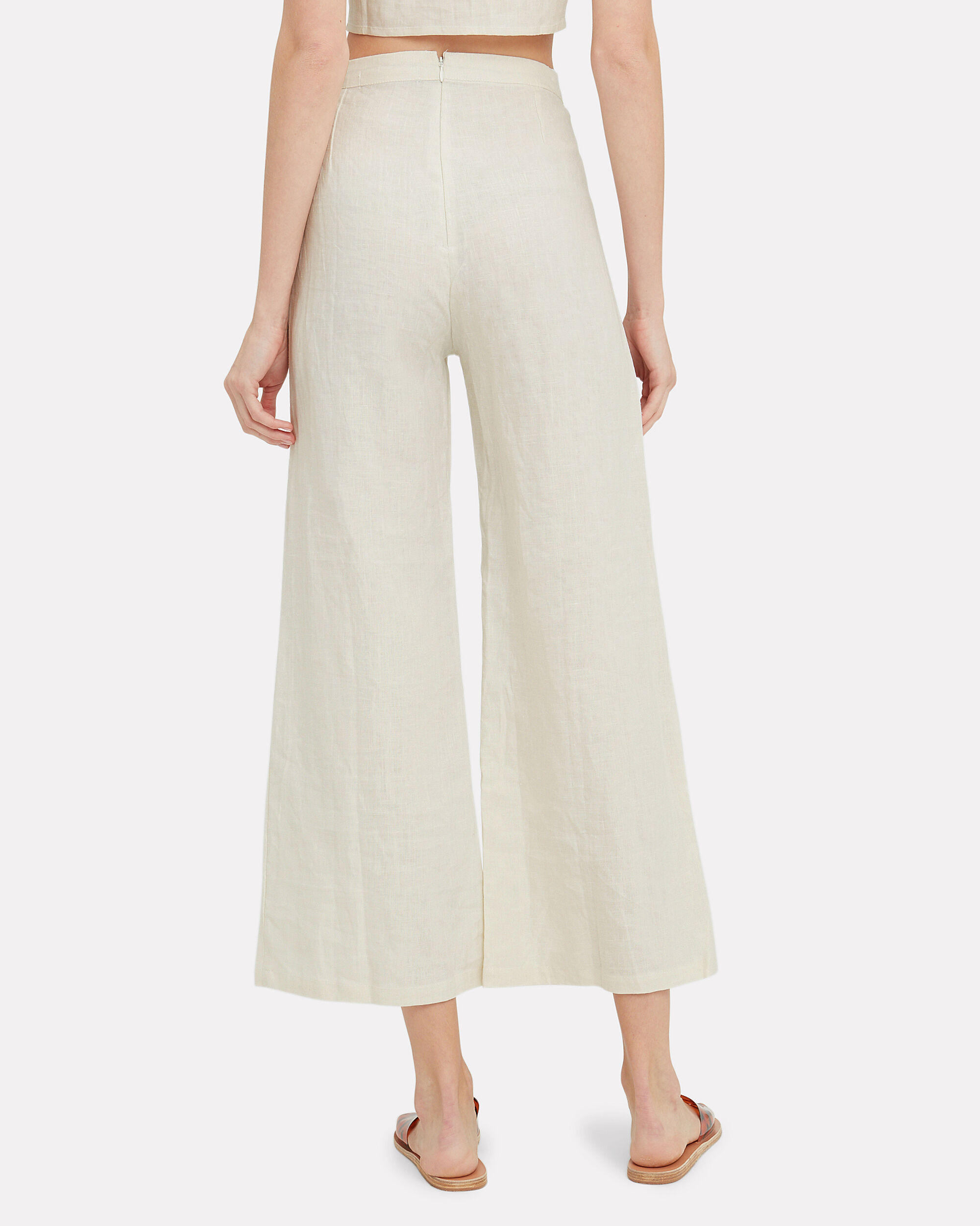 Scelsi High-Rise Trousers, IVORY, hi-res