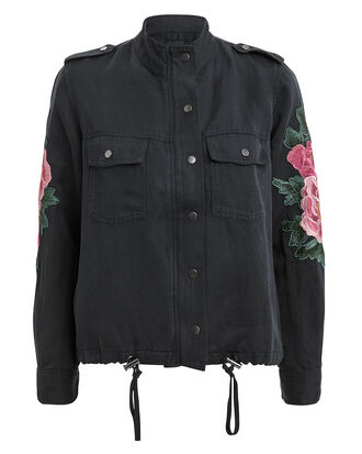 Collins Floral Jacket, NAVY/FLORAL, hi-res