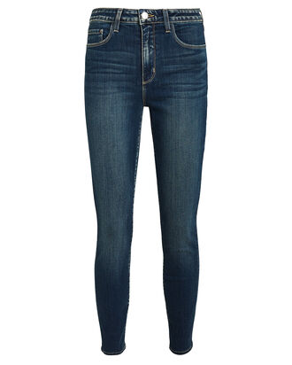 Margot High-Rise Skinny Jeans, MEDIUM INDIGO DENIM, hi-res