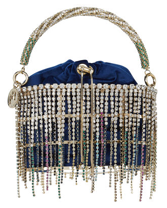 Penelope Crystal Cage Bag, GOLD-TONE BRASS, hi-res