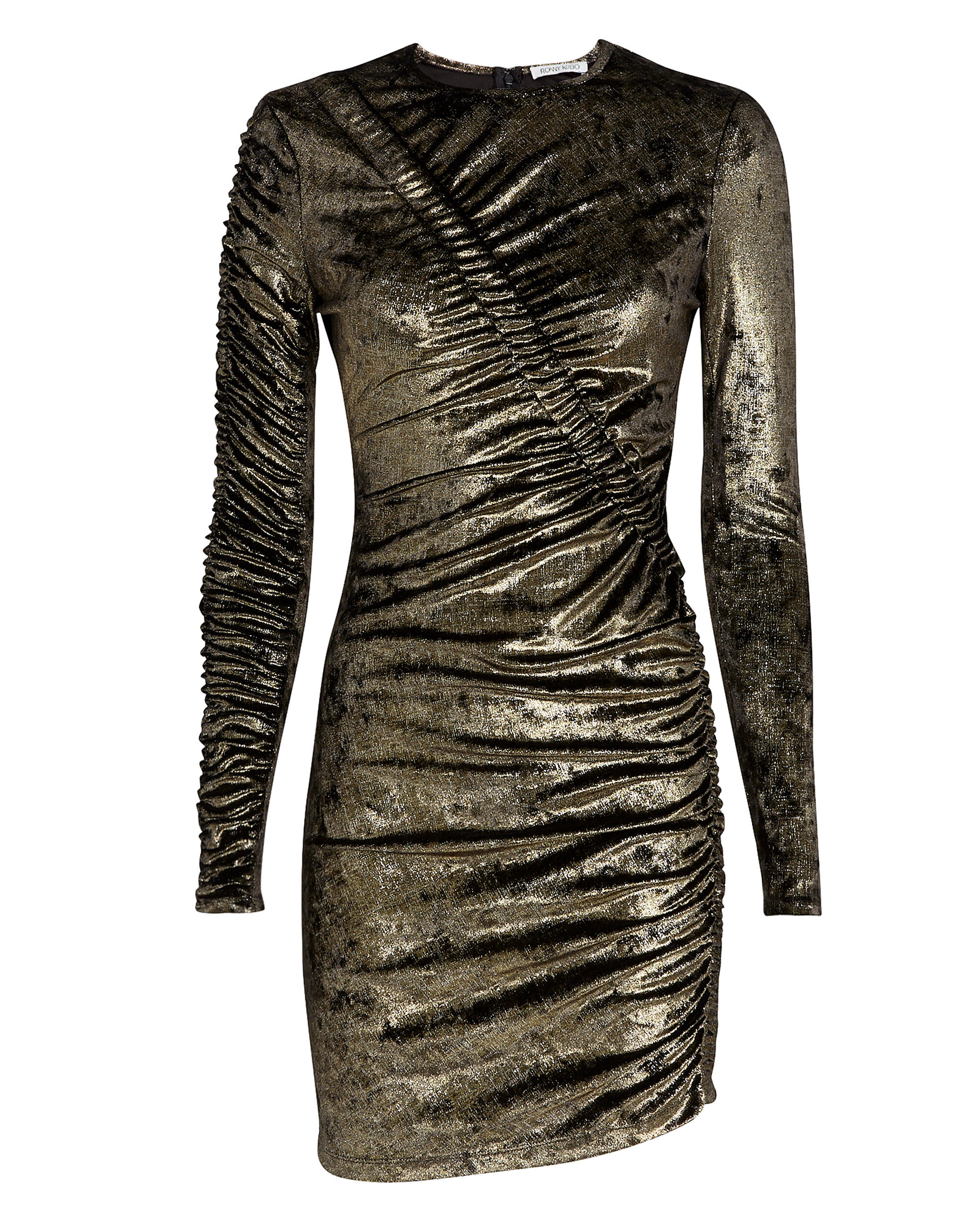 Yarden Gold Dress, GOLD, hi-res