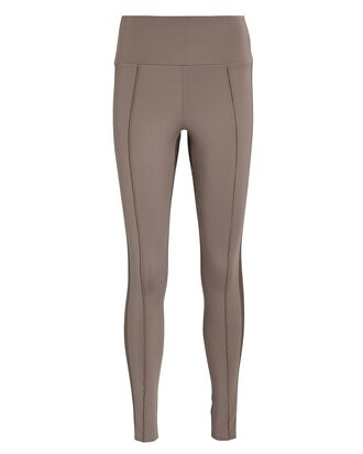 Nica Pintucked Leggings, BEIGE, hi-res