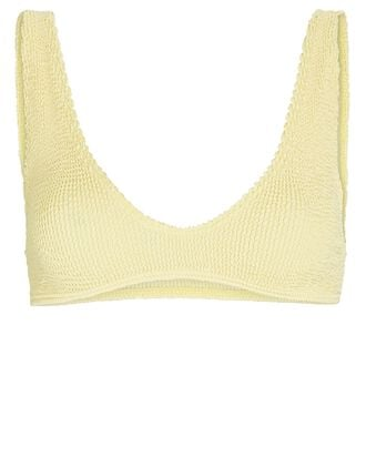 Scout Scoop Neck Bikini Top, LIGHT YELLOW, hi-res