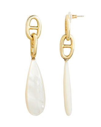 Grotto Drop Earrings, GOLD/IVORY, hi-res