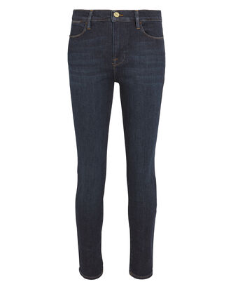 Le High Samira Jeans, DARK BLUE, hi-res