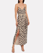 Rebecca Sequin-Embellished Slip Dress, BROWN, hi-res