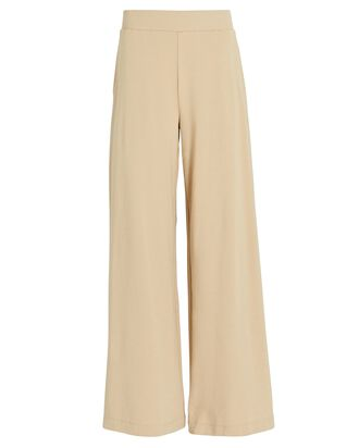The Campbell Wide-Leg Pants, BEIGE, hi-res