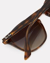 Rounded Square Sunglasses, BROWN, hi-res