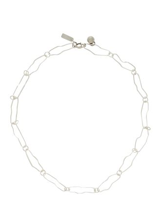 Dyad Chain-Link Necklace, SILVER, hi-res