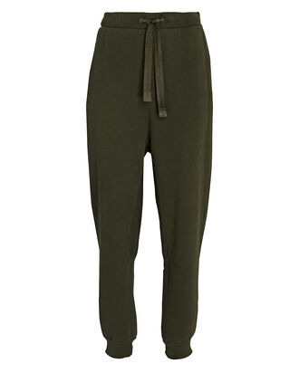 Easy Cotton Joggers, OLIVE, hi-res