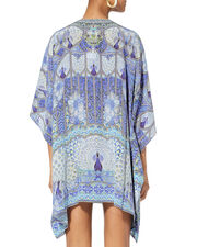 Wings To Fly Lace-Up Caftan, MULTI, hi-res