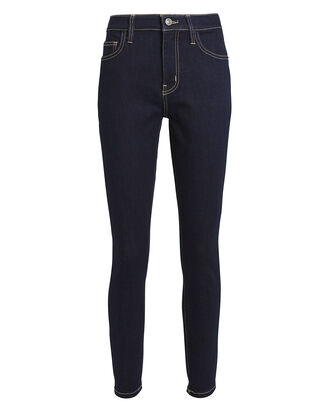 The High-Rise Stiletto Jeans, INDIGO DENIM, hi-res