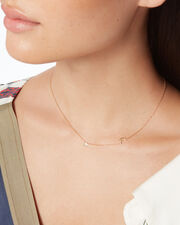 Starry Night Station Necklace, GOLD, hi-res