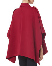Red Trench Cape, RED, hi-res