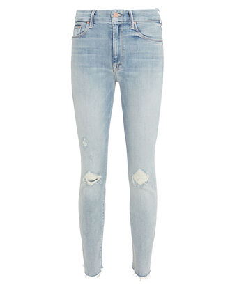 Looker Distressed Skinny Jeans, DENIM, hi-res