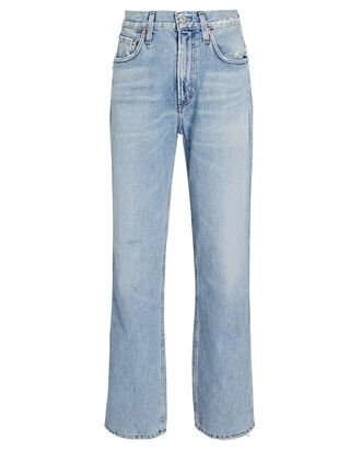 Daphne High-Rise Stovepipe Jeans, DENIM, hi-res