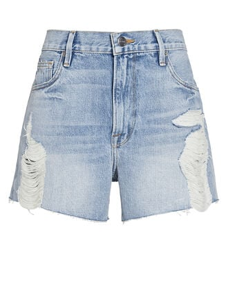 Le Ultra Baggy Denim Shorts, LOMOND SLASH, hi-res