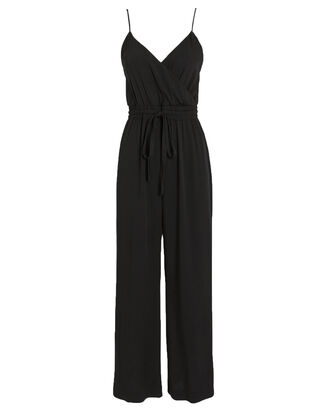 Marni  Wide Leg Jumpsuit, BLACK, hi-res