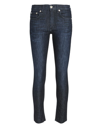 Ankle Dark Skinny Jeans, DENIM-DRK, hi-res